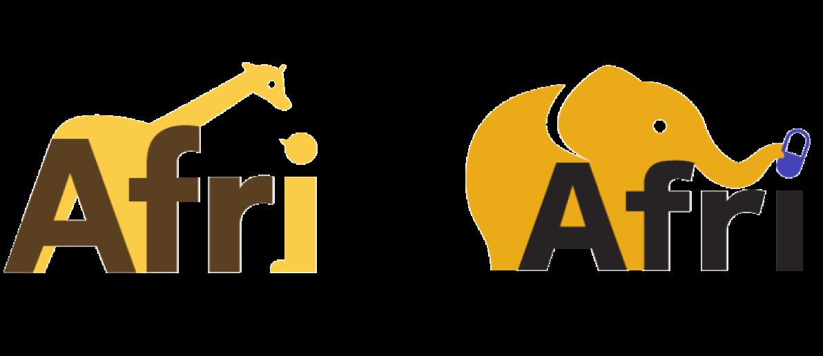 ロゴ足比較